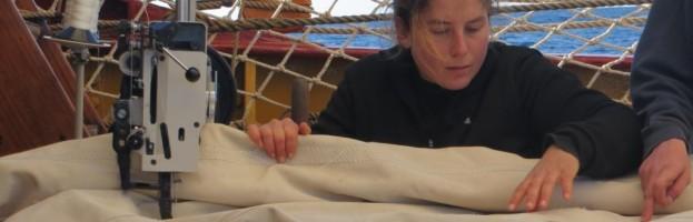 03.- 14. April, Passage nach Tristan da Cunha, Leben an Bord