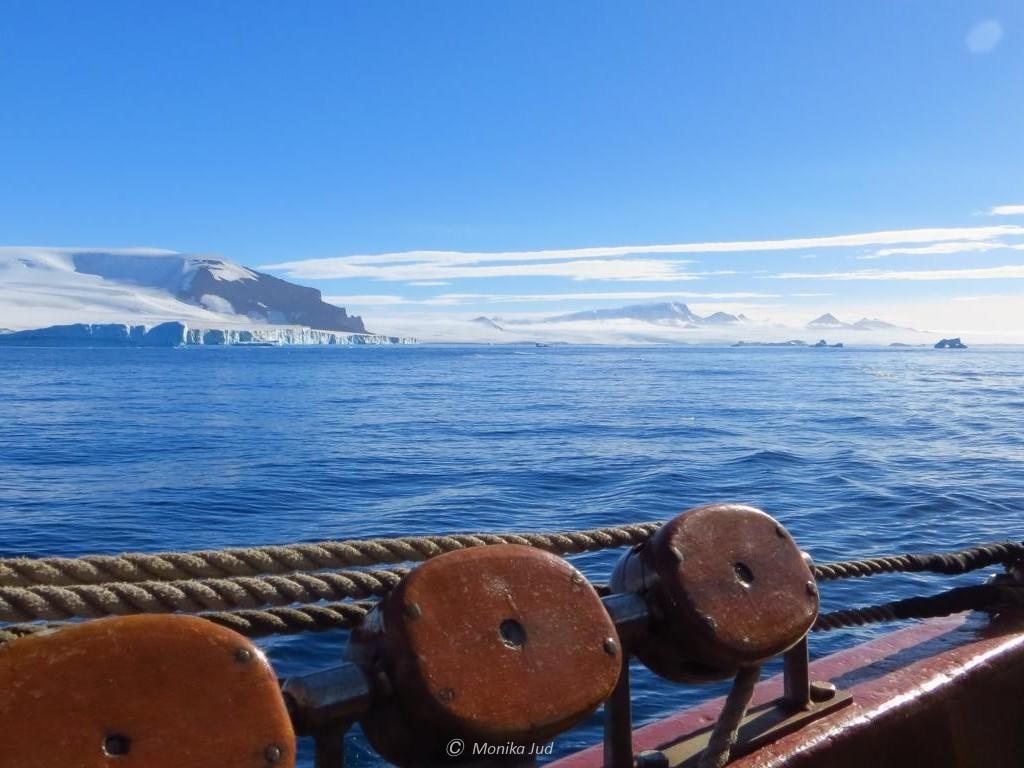 Bark Europa im Weddell-Meer