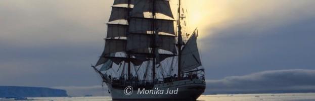 Der Antarktis-Reisebericht: 52 Tage Atlantikquerung mit dem Großsegler Bark Europa