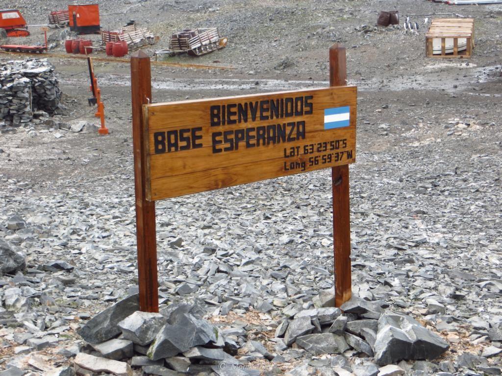Willkommen auf der argentinischen Forschungsstation in der Antarktis