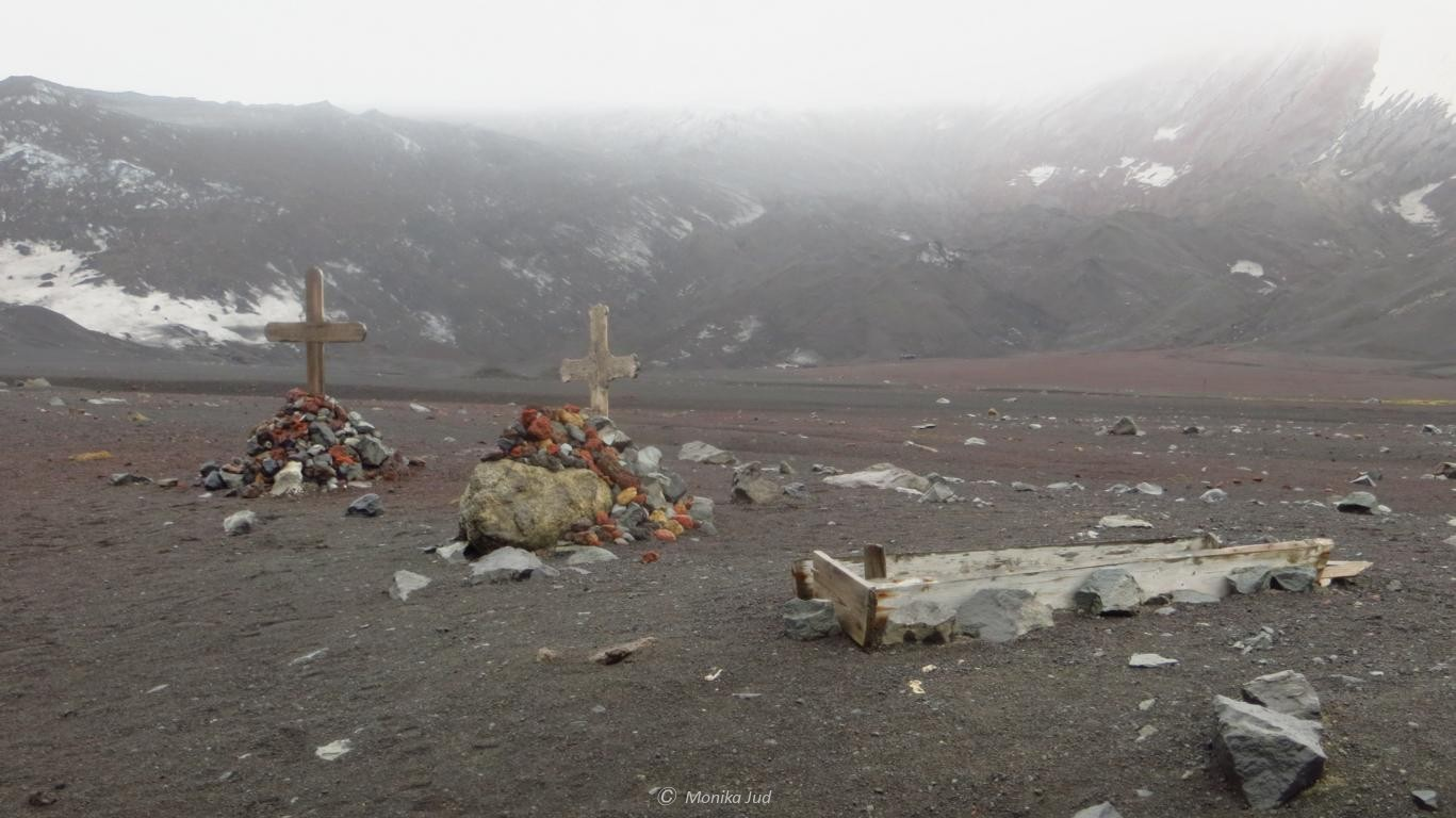 Friedhof der Whalers Bay auf Deception Island