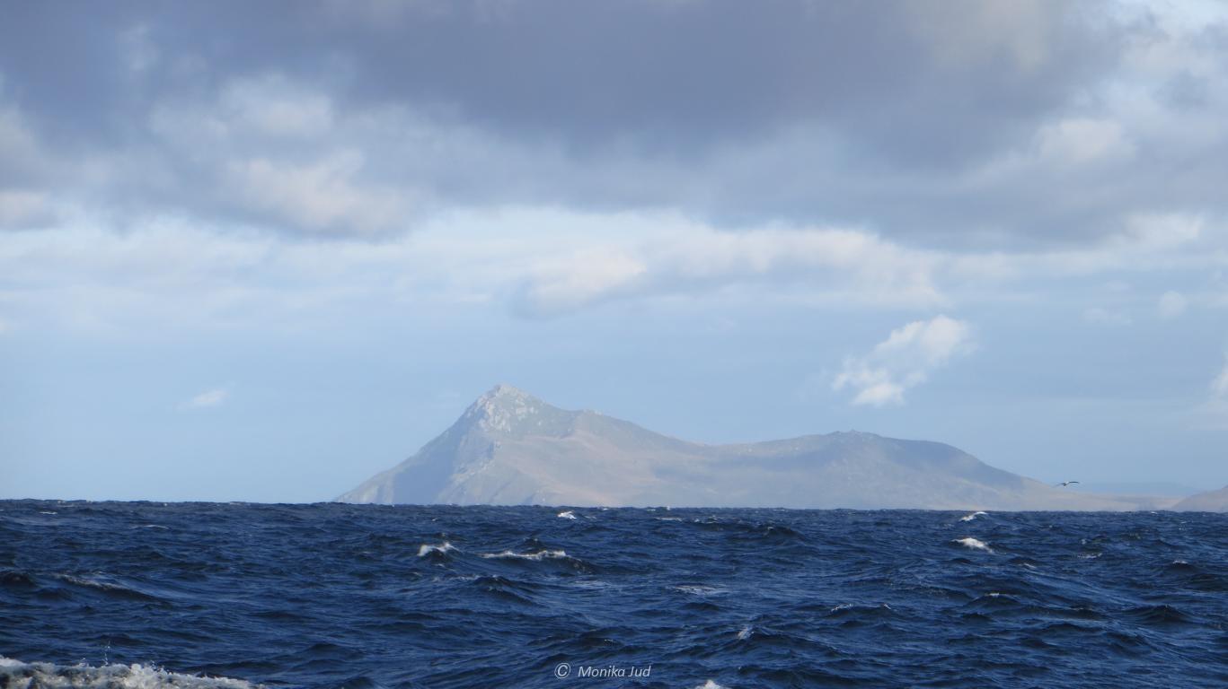 Sicht auf Kap Hoorn; auf dem Weg in die Antarktis mit dem Großsegler Bark Europa
