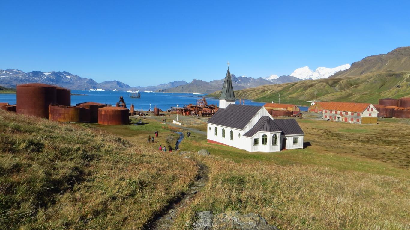Grytviken - Dörfchen in einer malerischen Bucht