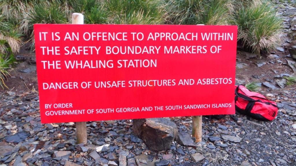 verlassene Walfangstation Prince Olaf Harbour: Altlasten bis heut