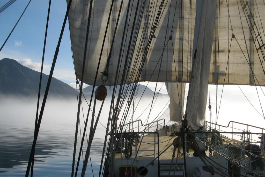 Spitsbergen - Bug der Barkine Antigua